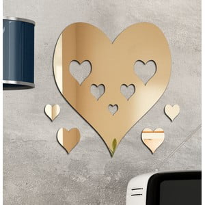Lustro dekoracyjne Serce w sercu