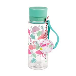 Butelka na wodę Rex London Flamingo Bay, 600 ml