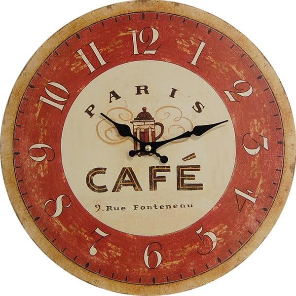 Zegar Cafe Paris, 34 cm