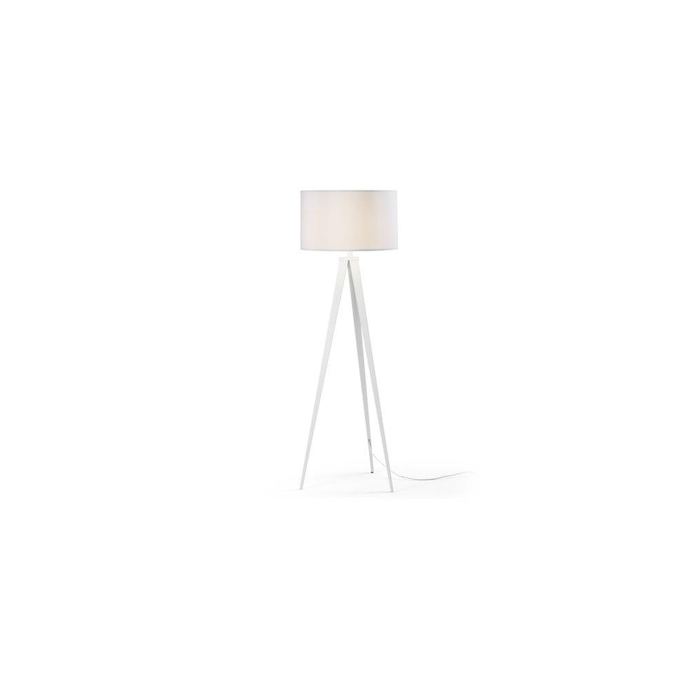 Biała lampa stojąca La Forma Uzagi