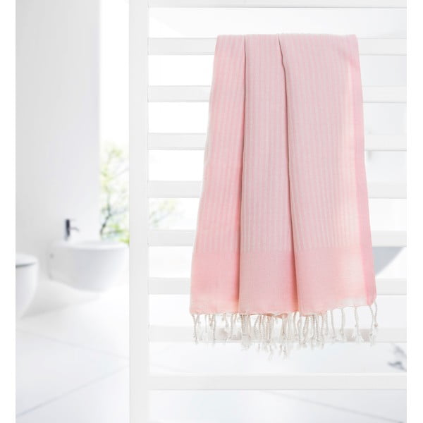 Ręcznik hammam Loincloth, różowy