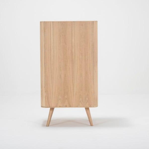 Szafka z drewna dębowego Gazzda Ena, 60x110 cm