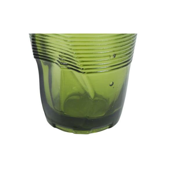 Zestaw 6 szklanek Kaleidos 360 ml, zielony