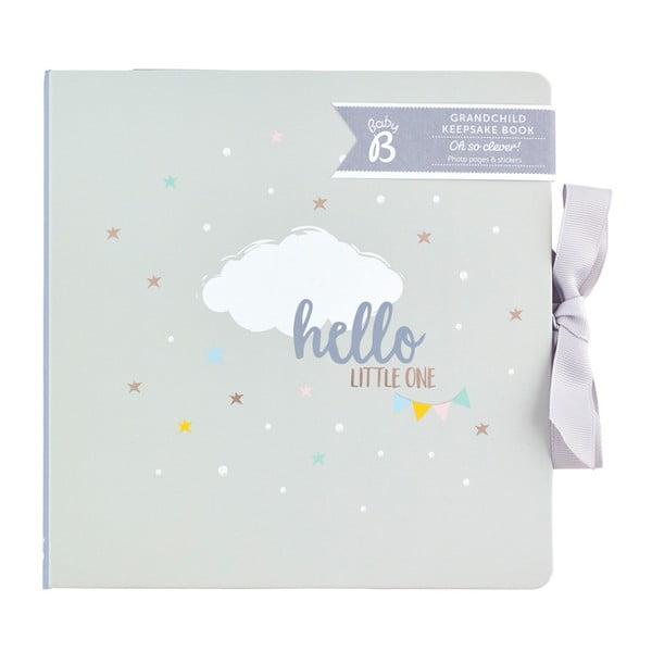 Jasnoszary pamiętnik małego dziecka Busy B