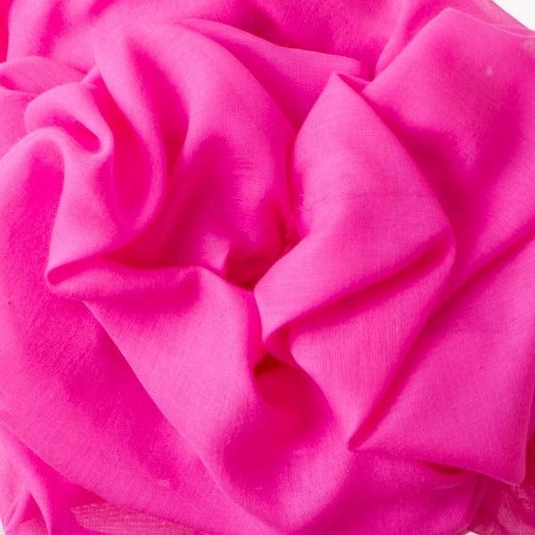Szal Poetry Grunge Neon Pink