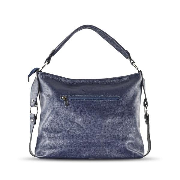 Skórzana torebka Anne, niebieska