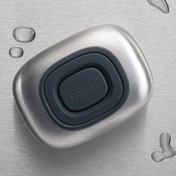 Pojemnik na mydło w płynie ze stali nierdzewnej Joseph Joseph SmartBar