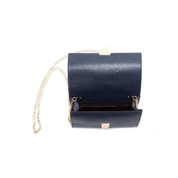 Niebieska skórzana torebka Sofia Cardoni Marita