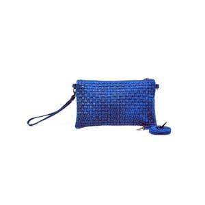 Skórzana kopertówka Catarina, niebieska