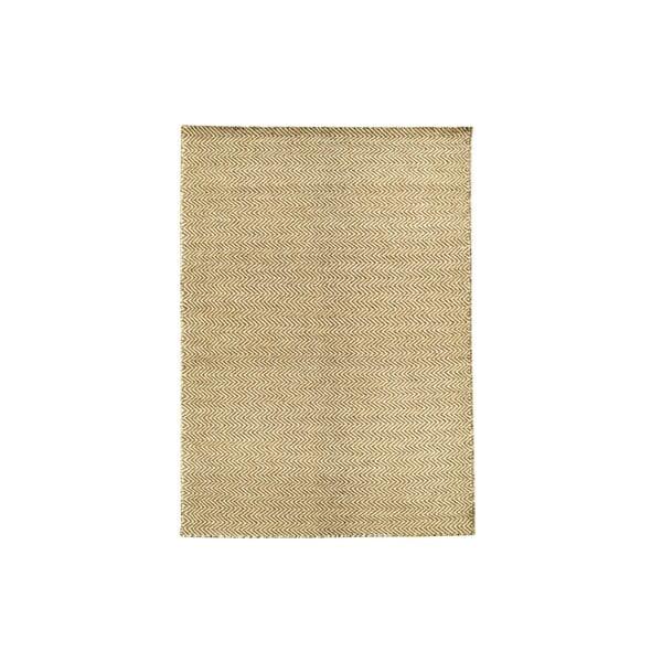 Ręcznie tkany kilim Brown Zigzag Kilim, 107x158 cm