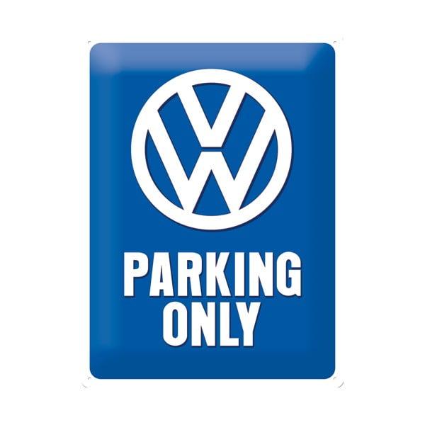 Blaszana tablica retro Parking Only, 30x40 cm