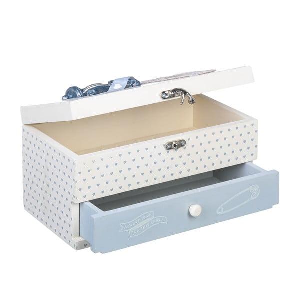 Pudełko na przybory do szycia Sewing, 24x14 cm