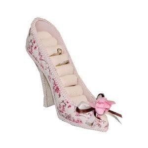 Puzderko na biżuterię Antic Line Romantic Shoe