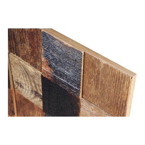 Dekoracja ścienna Wooden Natural, 60x60 cm