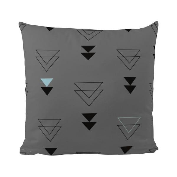 Poduszka   Triangles in Grey, 50x50 cm