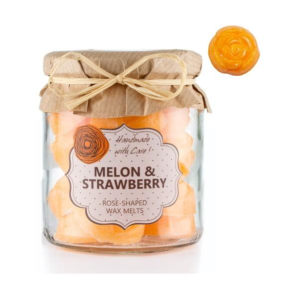 Zestaw 18 małych świeczek zapachowych Melon and Strawberry