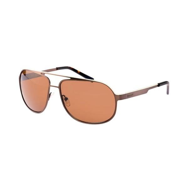 Męskie okulary przeciwsłoneczne GANT Beige Brown