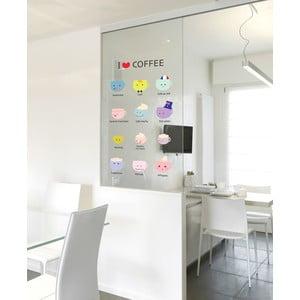 Zestaw naklejek I Love Coffee