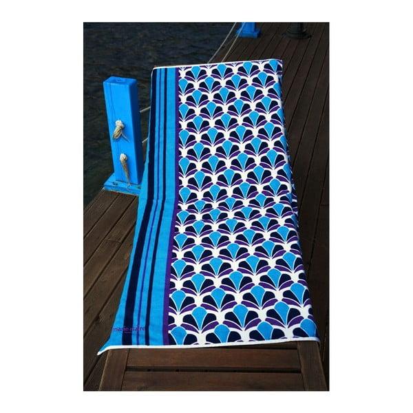 Ręcznik Blue Shell, 75x150 cm