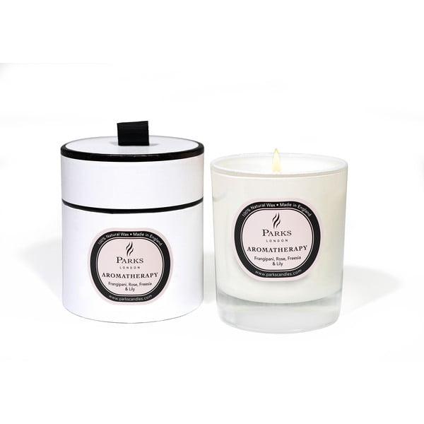 Świeczka o zapachu plumerii, róży, frezji i lilii Parks Candles London, 50 h