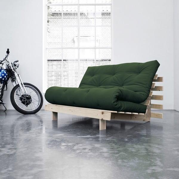 Sofa rozkładana Karup Roots Raw/Botella