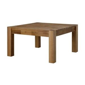 Stolik z blatem z drewna dębowego Actona Turbo, 80x80 cm