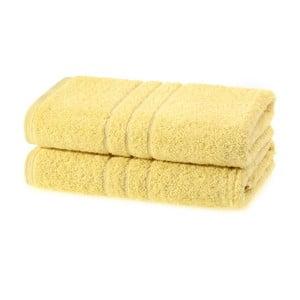 Ręcznik Kudos Yellow, 70x120 cm