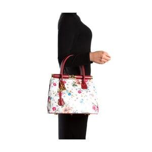 Skórzana torebka Carla Ferreri 901 Rosso Multi