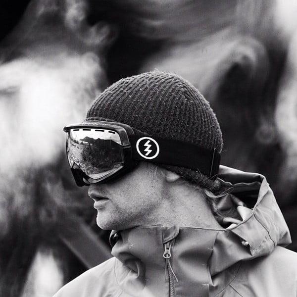 Gogle narciarskie Electric EGV Black Tropic z powłoką przeciwmgielną