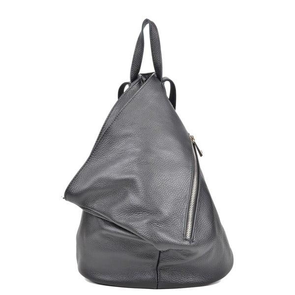 Czarny plecak skórzany Isabella Rhea Beau