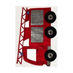 Dywan dziecięcy Happy Rugs Fireman Truck, 120x180 cm