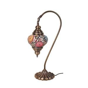 Lampka szklana Fishing II, 13 cm