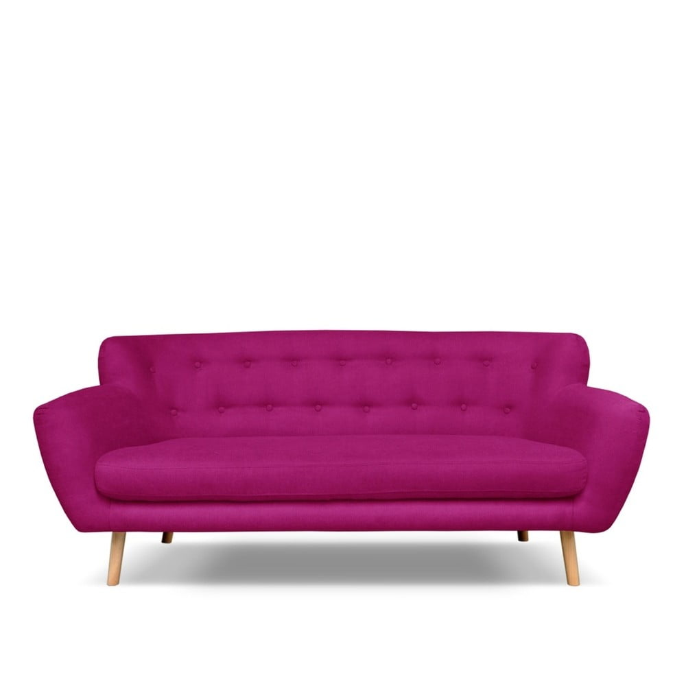 Fuksjowa sofa 3-osobowa Cosmopolitan design London