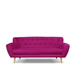Fuksjowa sofa 3-osobowa Cosmopolitan design London