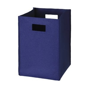 Filcowe pudełko 36x25 cm, ciemnoniebieskie