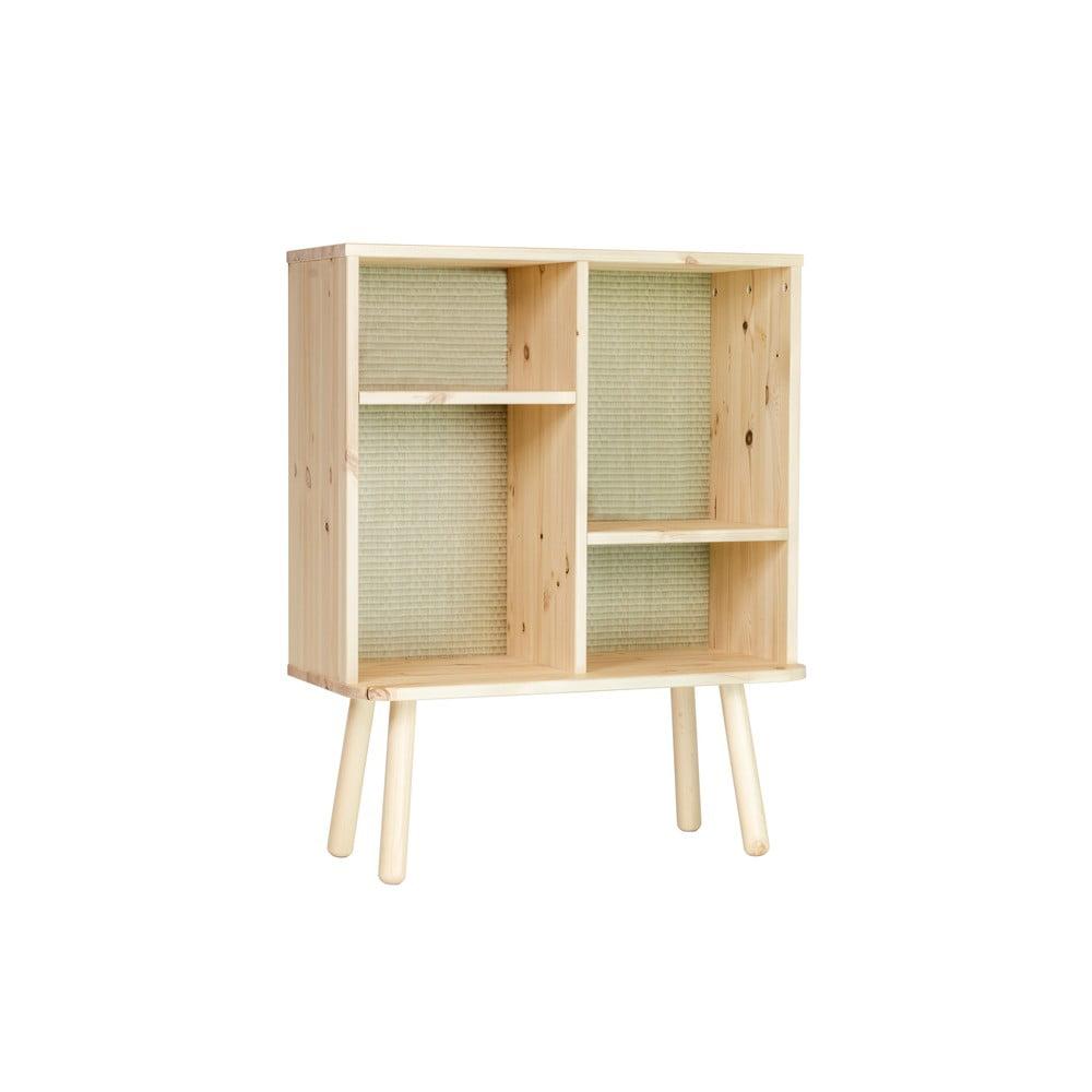 Komoda z drewna sosnowego w naturalnym kolorze Karup Design Kyabi