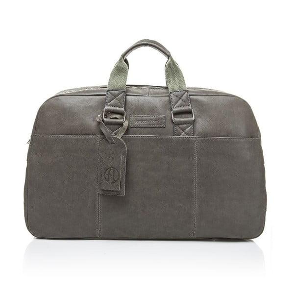Męska torba skórzana Ferruccio Laconi 100 Dark Green