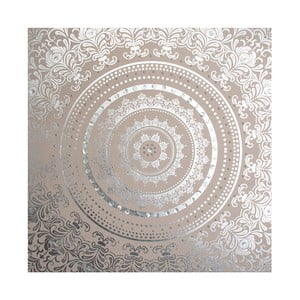 Obraz z materiału ze zdobieniami Graham & Brown Cocoon, 80x80 cm