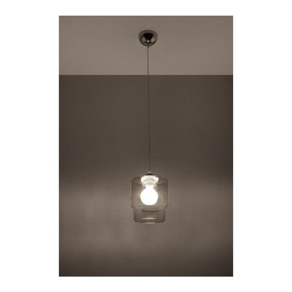 Szara lampa wisząca Nice Lamps Alto
