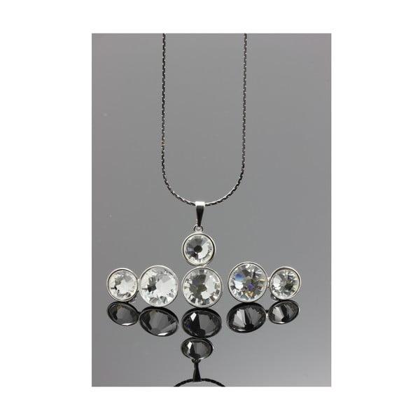 Zestaw Swarovski Elements Double Crystal