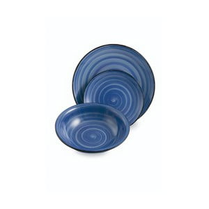 Komplet 6 talerzy Baita Blue