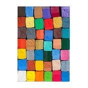 Chodnik winylowy Colorful, 52x75 cm
