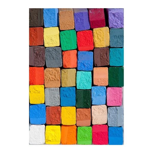 Winylowy dywanik Colorful, 52x75 cm