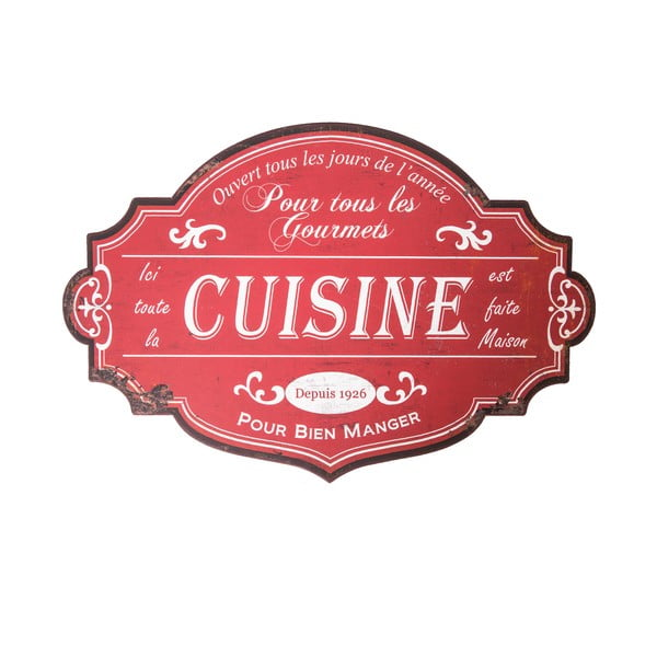 Tabliczka ścienna Antic Line Cuisine Pour