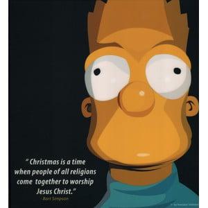 """Obraz """"Bart Simpson"""""""