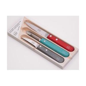 Zestaw 2 nożyków i obieraczki Jean Dubost Color