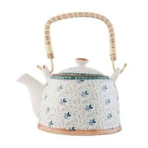 Dzbanek do herbaty Clayre & Eef Violets, 700 ml
