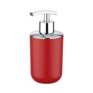 Czerwony dozownik do mydła Wenko Brasil Red