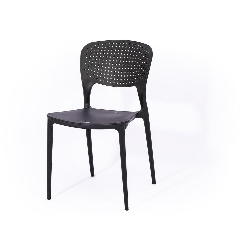 Szare krzesło ogrodowe Le Bonom Wendy I