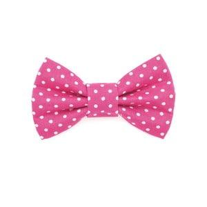 Mucha dla psa Funky Dog Bow Ties, roz. S, różowa w kropki